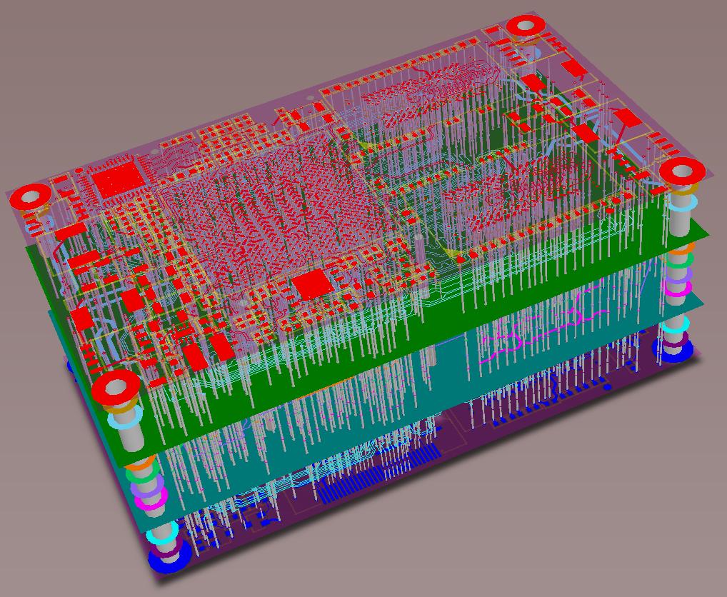 تابلوهای مدار چاپی چند لایه (PCB)