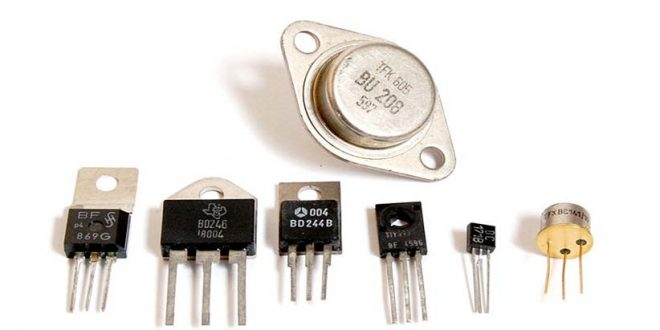 قطعه الکترونیکی ترانزیستور